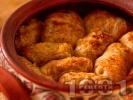 Рецепта Постни сарми за Бъдни вечер от кисело зеле с ориз в глинен съд